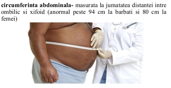 Circumferinta abdominala